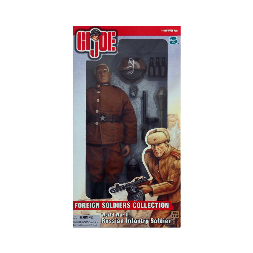 G.I. Joe Foreign Soldiers Collection World War II Russian Infantry Soldier