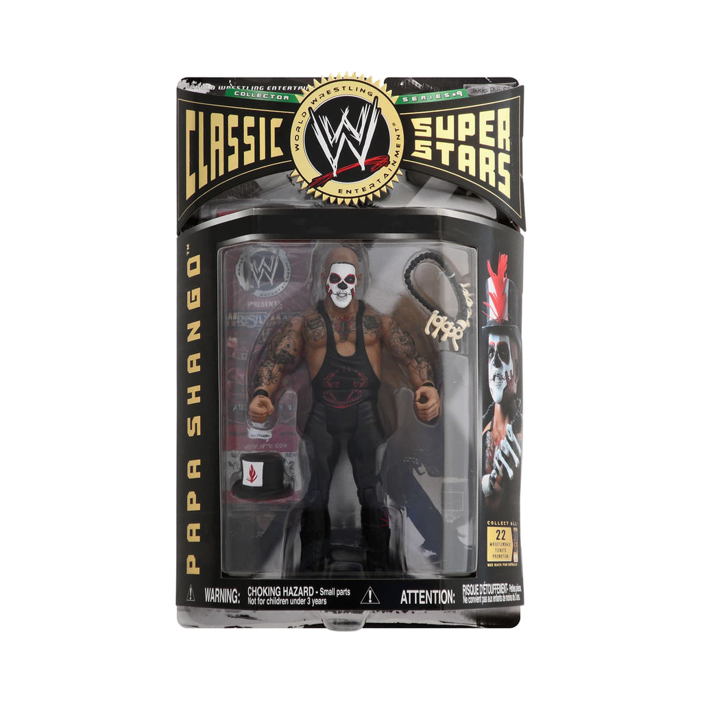 Classic WWE Superstars Series 9 Papa Shango