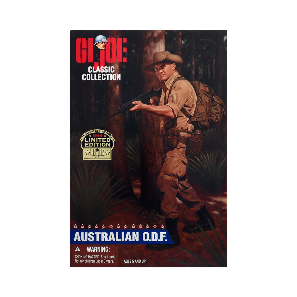 G.I. Joe Classic Collection Australian O.D.F. (Caucasian)