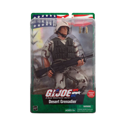 G.I. Joe Desert Grenadier (Hispanic)