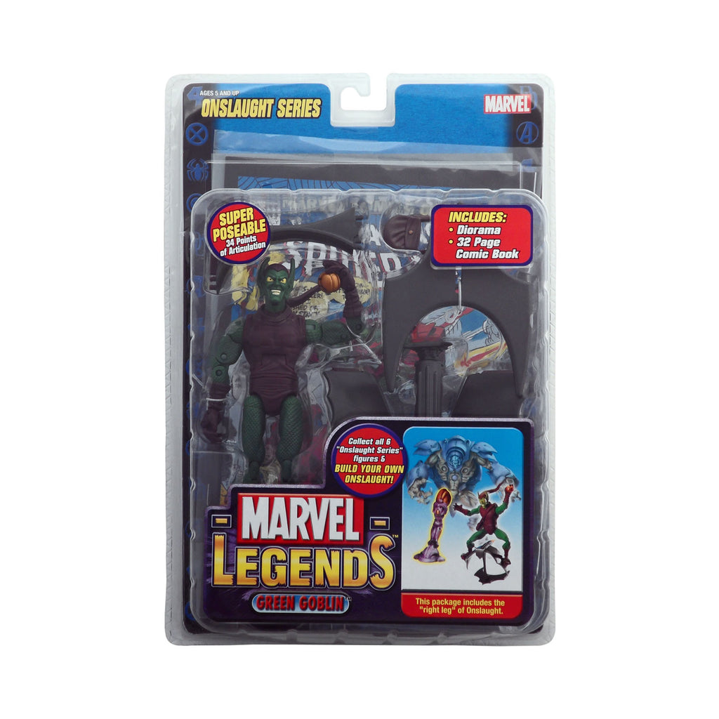 Marvel Legends Onslaught Series Green Goblin (masked)