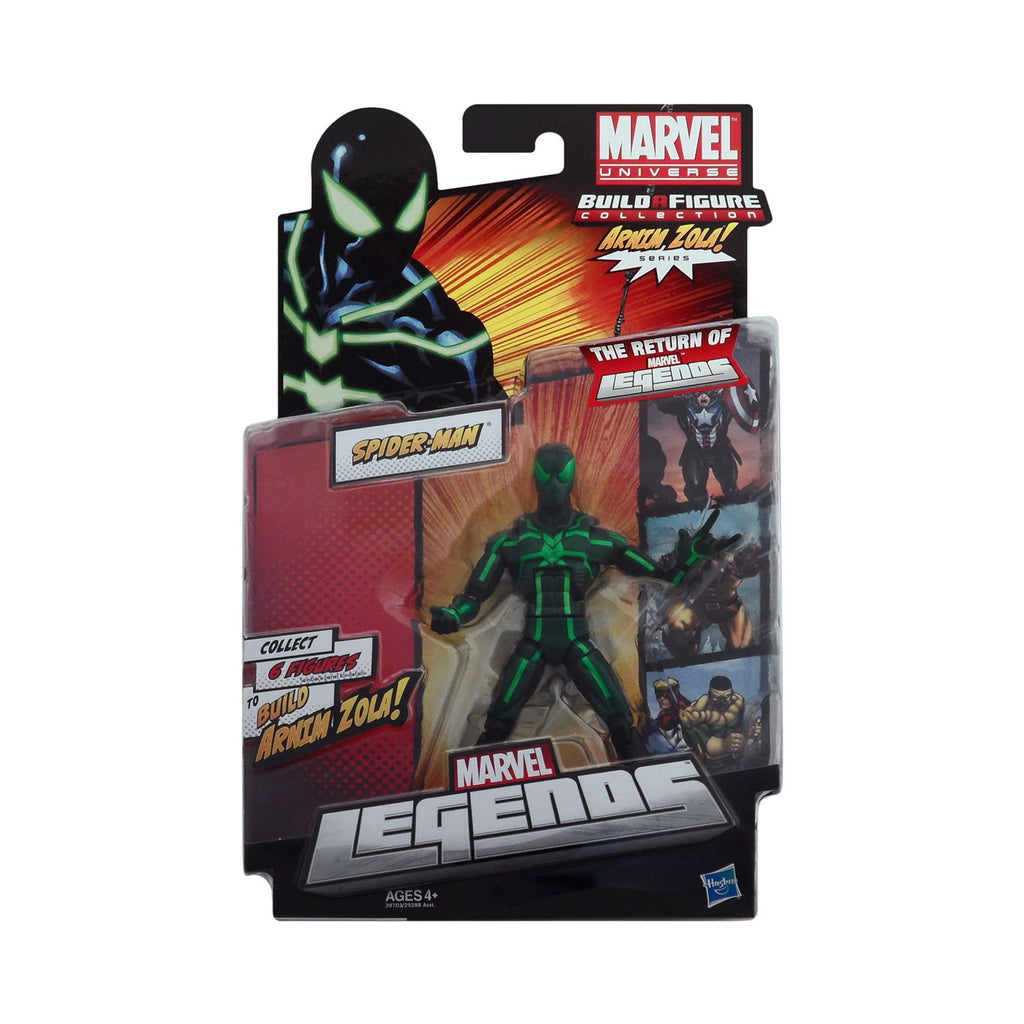 Marvel Legends Arnim Zola Series Big Time Spider-Man