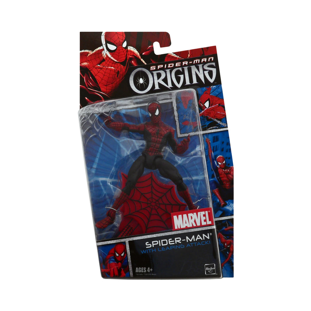 Spider-Man Origins Spider-Man with Leaping Attack