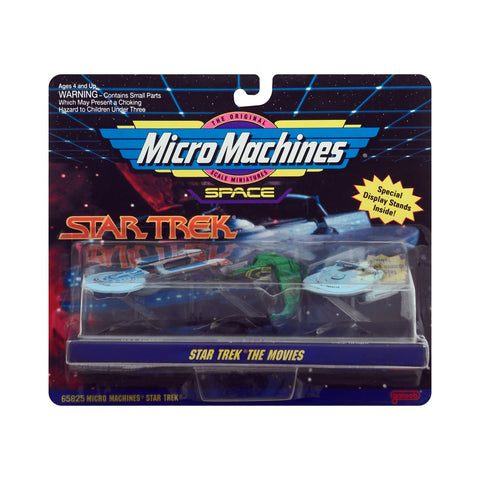 Micro Machines Star Trek The Movies Collection #2
