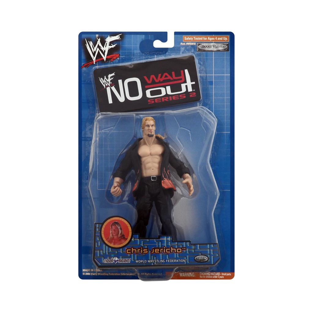 WWF No Way Out Series 2 Chris Jericho