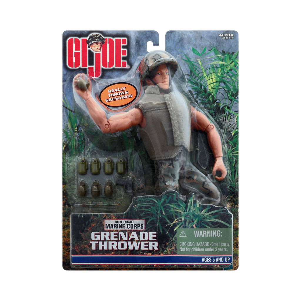 G.I. Joe Marine Corps Grenade Thrower (Caucasian)