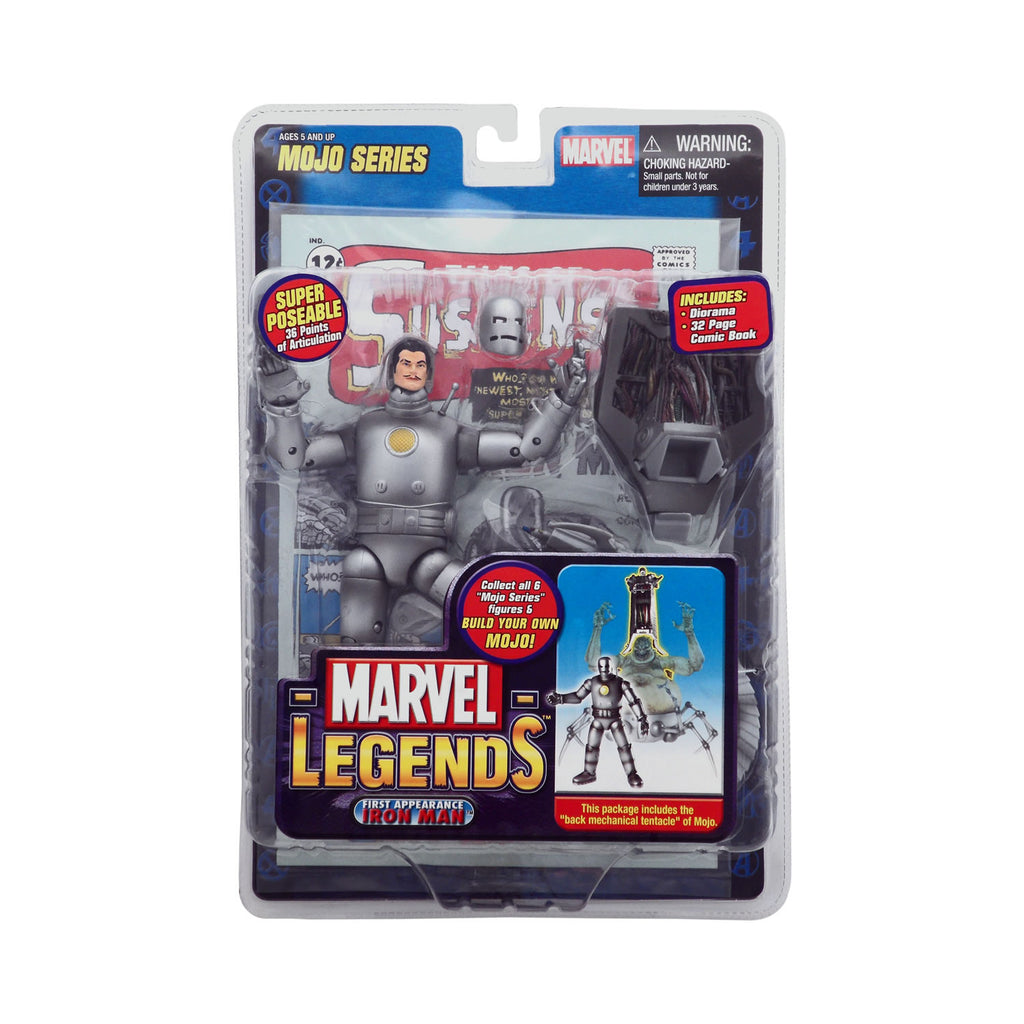 Marvel Legends Mojo Series First Appearance Iron Man (silver)