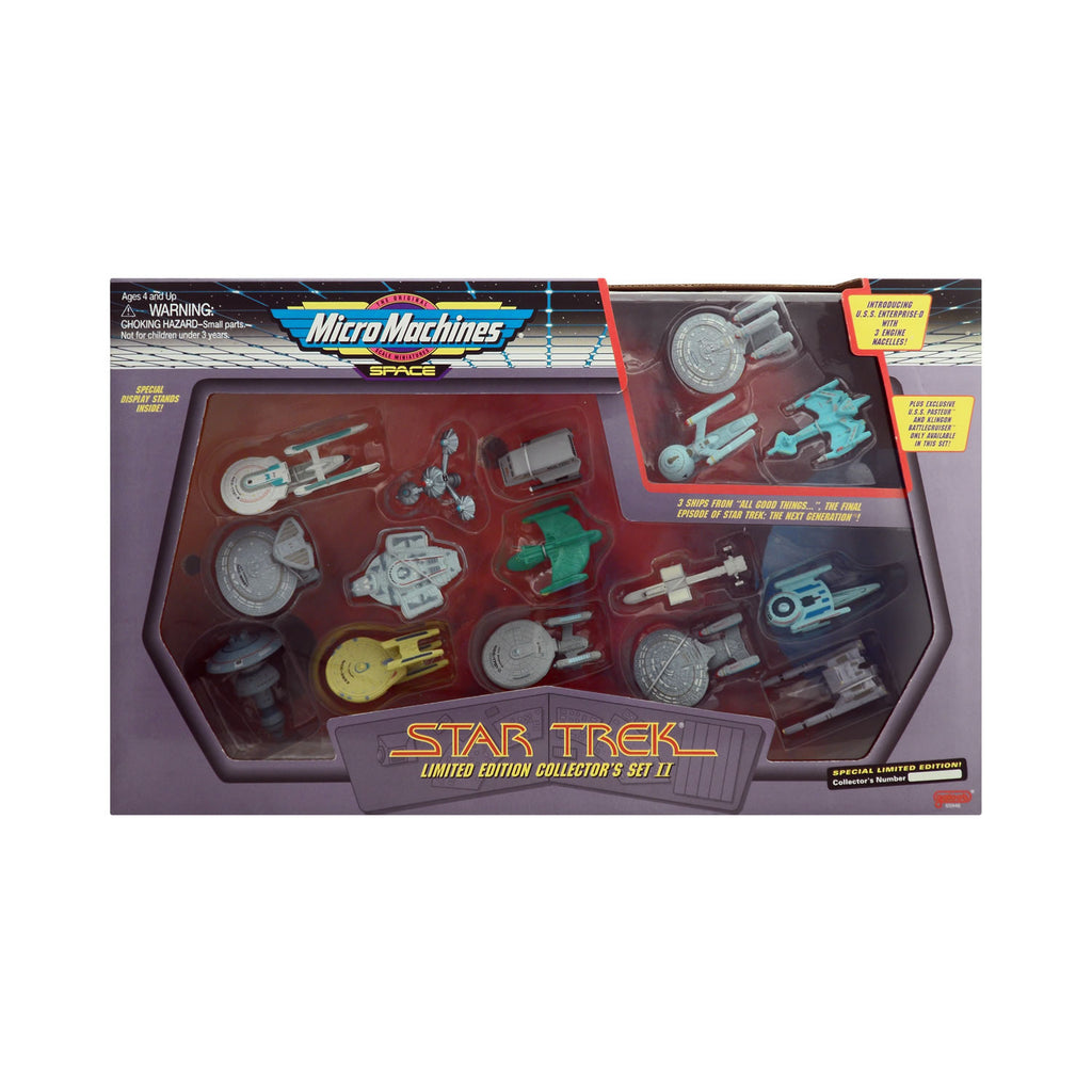 Micro Machines Star Trek Limited Edition Collector's Set II