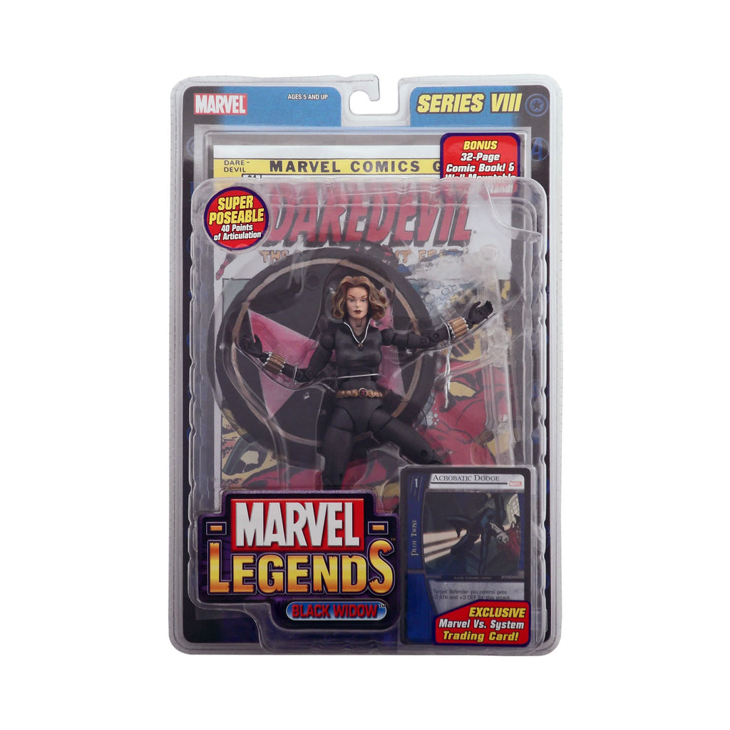 Marvel Legends Series VIII Black Widow (short hair variant)