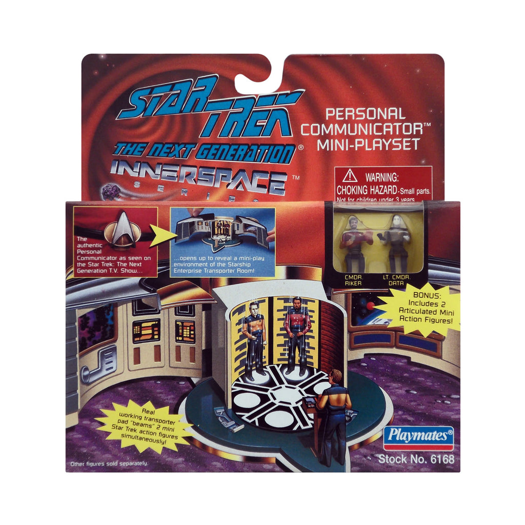 Innerspace Series Personal Communicator Mini-Playset from Star Trek: The Next Generation