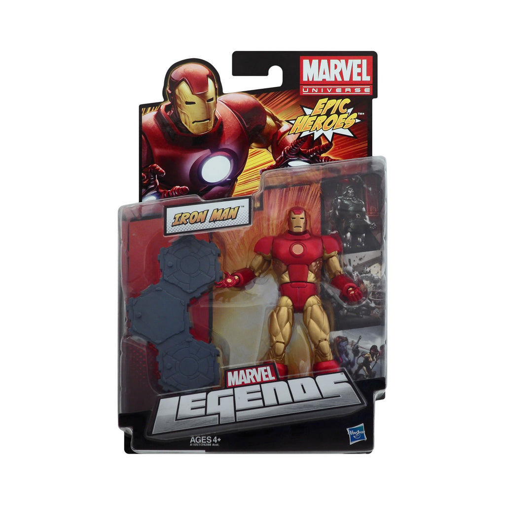 Marvel Legends Epic Heroes Series Iron Man
