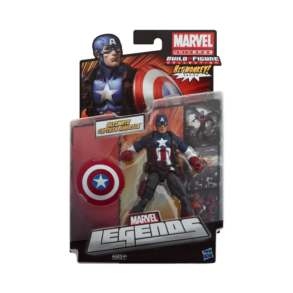 Marvel Legends Hit Monkey Series Ultimate Captain America