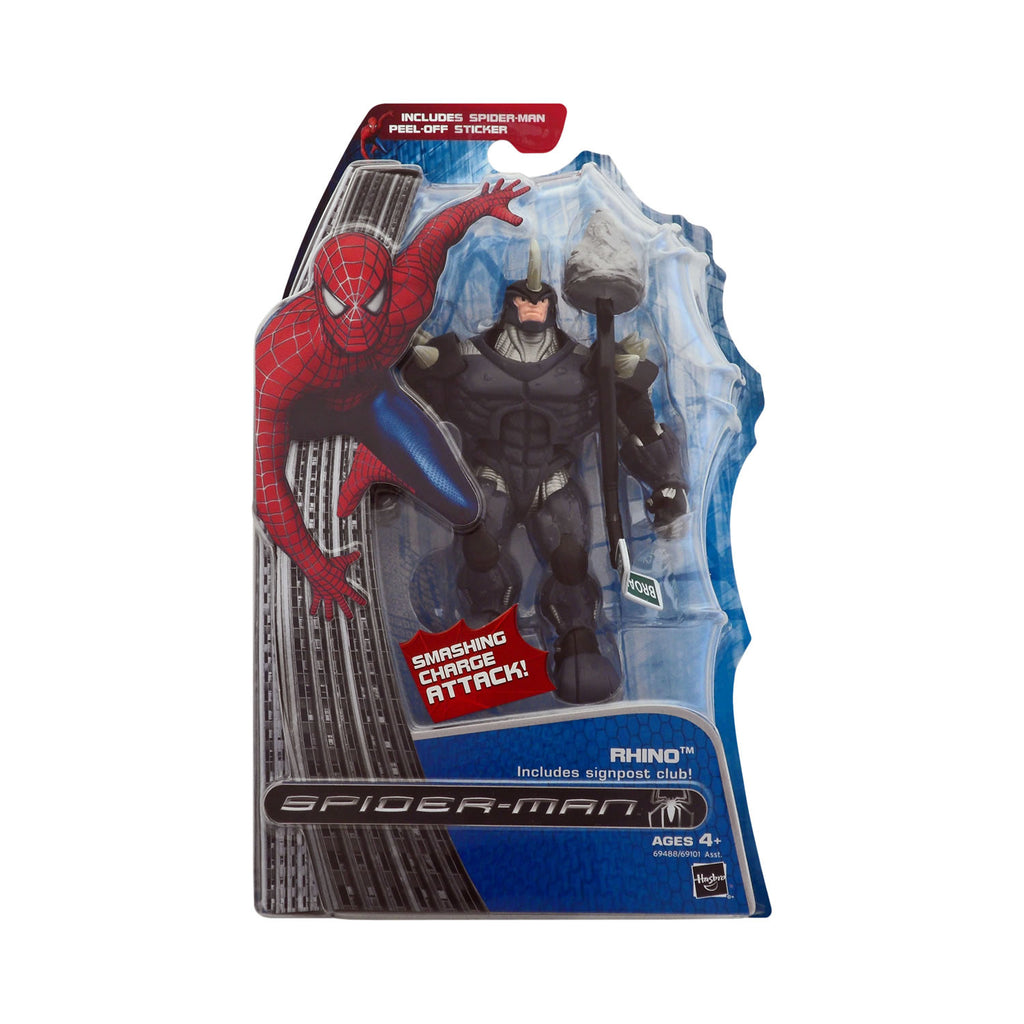 Rhino with Smashing Charge Attack from Spider-Man