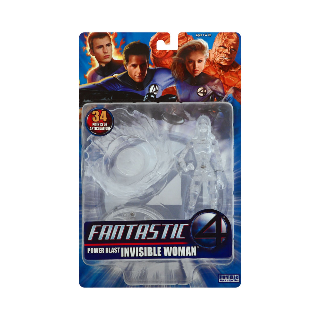 Power Blast Invisible Woman from the Fantastic Four Movie (clear variant)