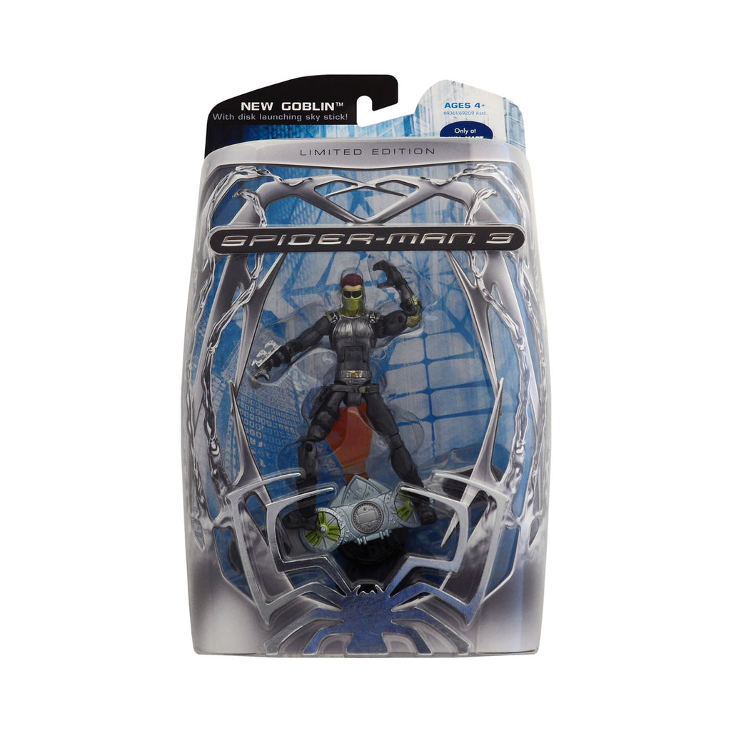 Limited Edition New Goblin with Disk Launching Sky Stick from Spider-Man 3
