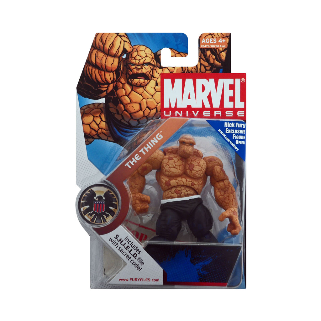 Marvel Universe Series 1 Figure 19 The Thing (dark blue pants)