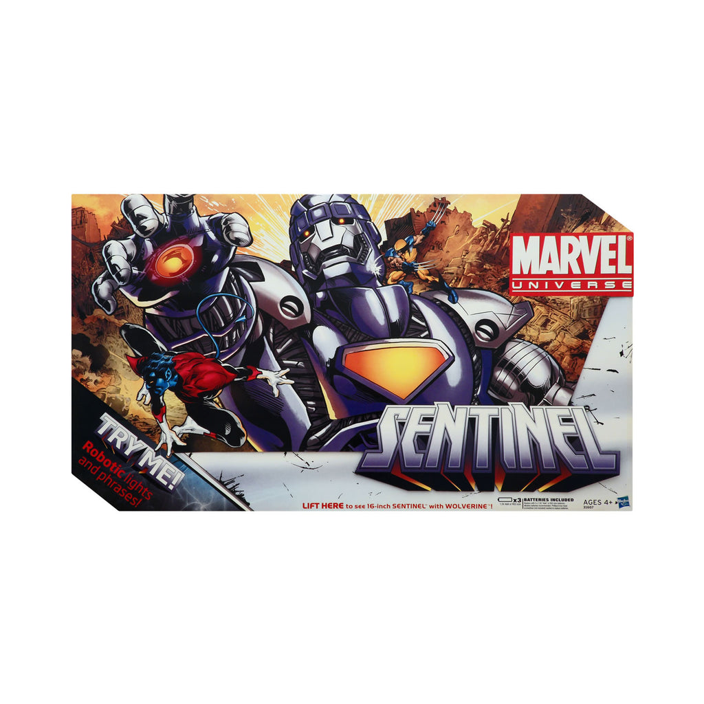 Marvel Universe Sentinel with Wolverine (silver version)