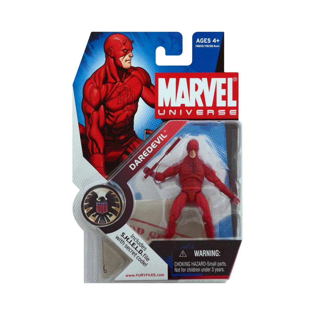 Marvel Universe Series 1 Figure 8 Daredevil (light red)