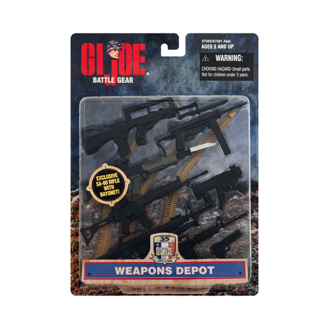 G.I. Joe Battle Gear Weapons Depot