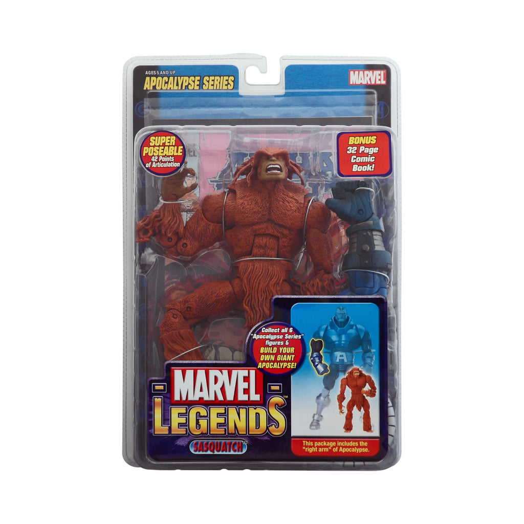 Marvel Legends Apocalypse Series Sasquatch (brown)