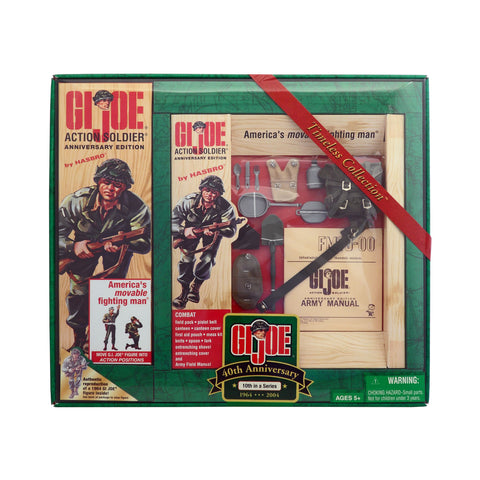 G.I. Joe 40th Anniversary Action Soldier with Combat Field Pack 10th Set in a Series