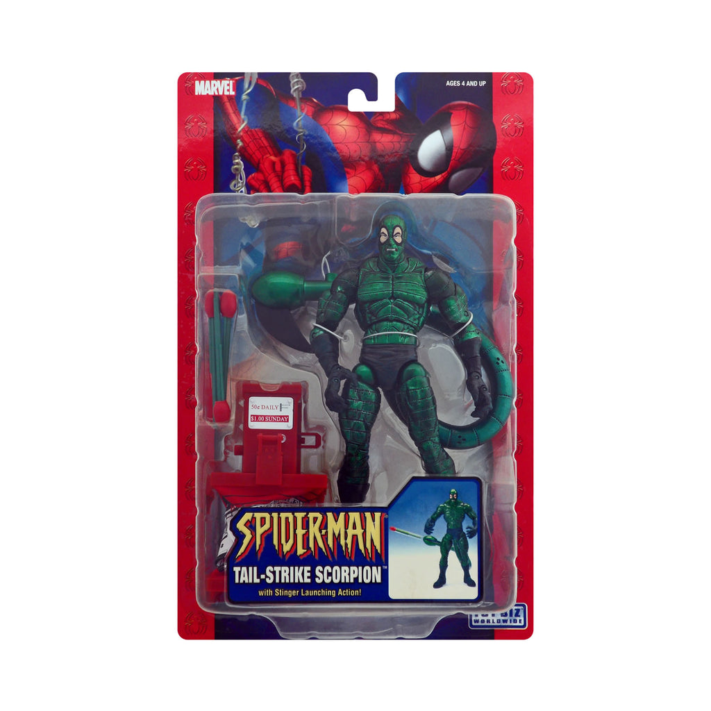 Tail-Strike Scorpion with Stinger Launching Action from Spider-Man (metallic variant)