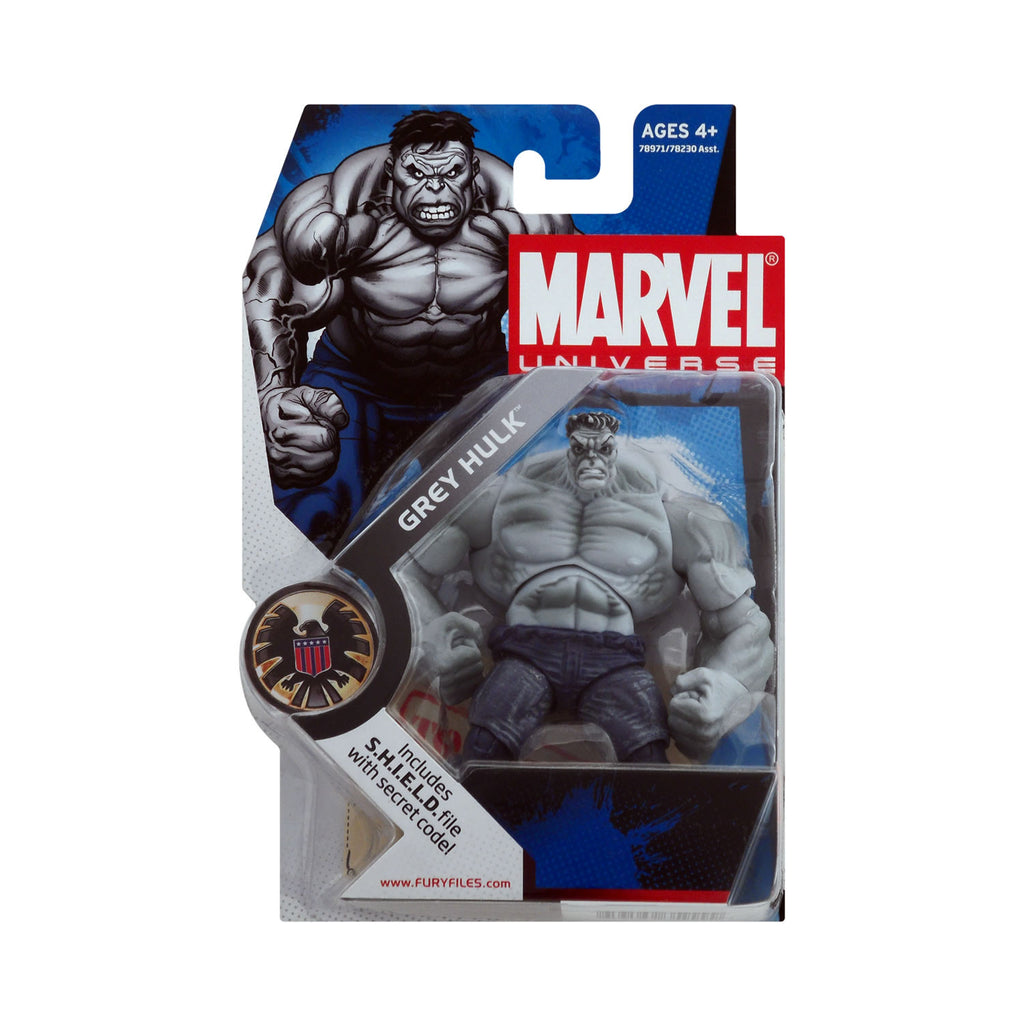 Marvel Universe Series 1 Figure 14 Grey Hulk