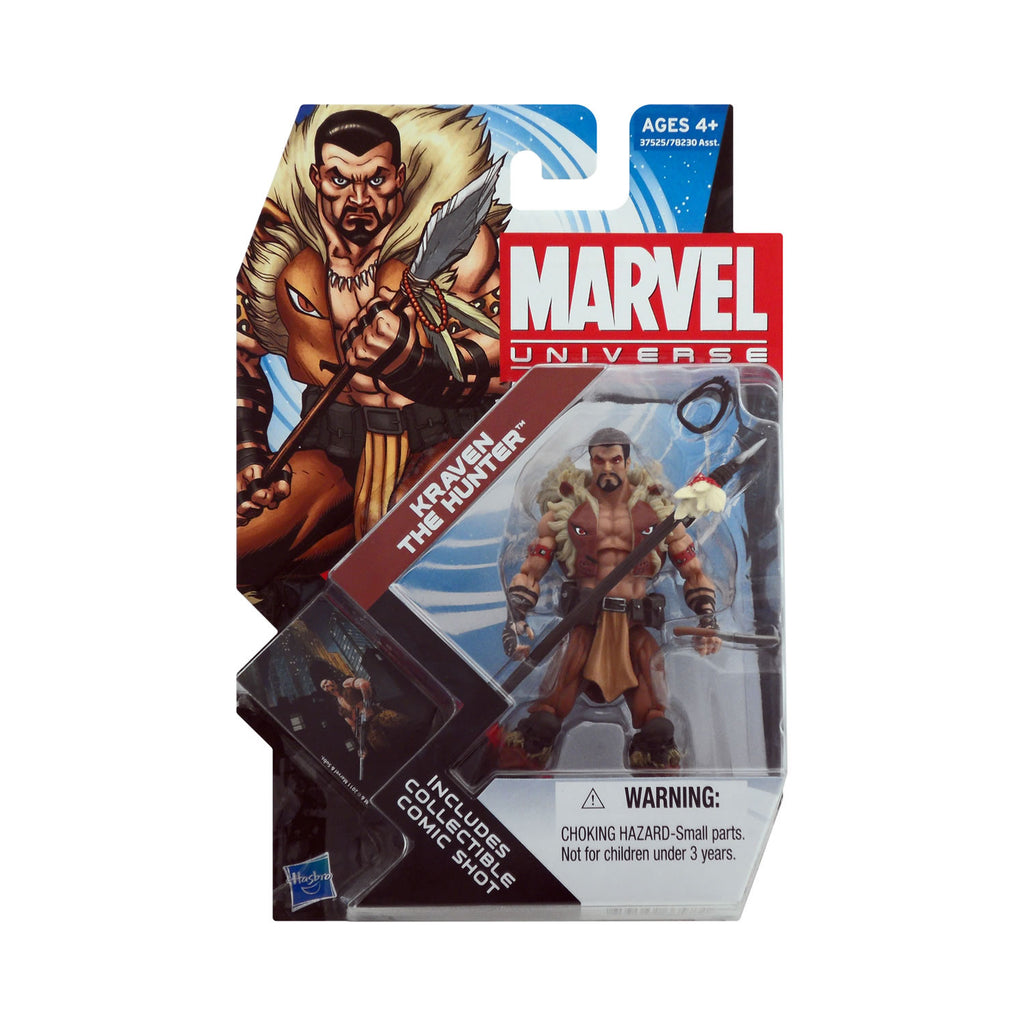 Marvel Universe Series 4 Figure 8 Kraven the Hunter