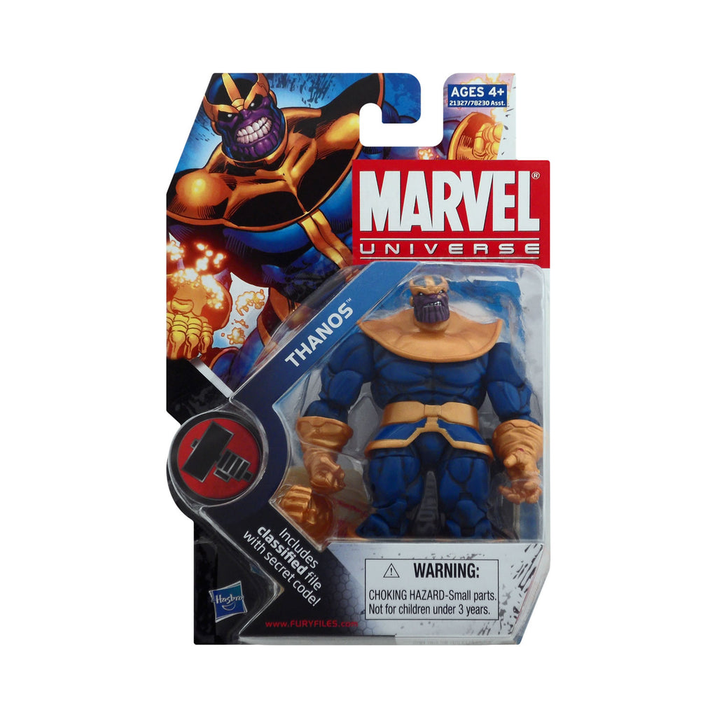 Marvel Universe Series 2 Figure 34 Thanos (with alternate hand)