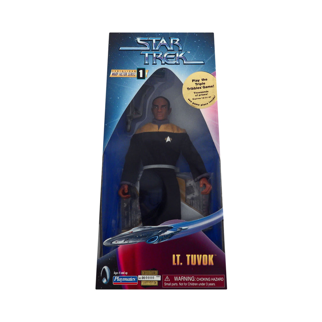 Warp Factor Series 1 Lt. Tuvok from Star Trek