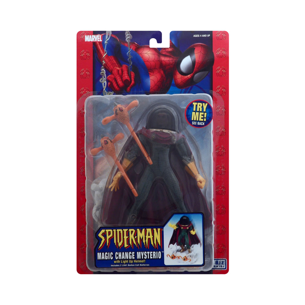 Magic Change Mysterio with Light Up Helmet from Spider-Man