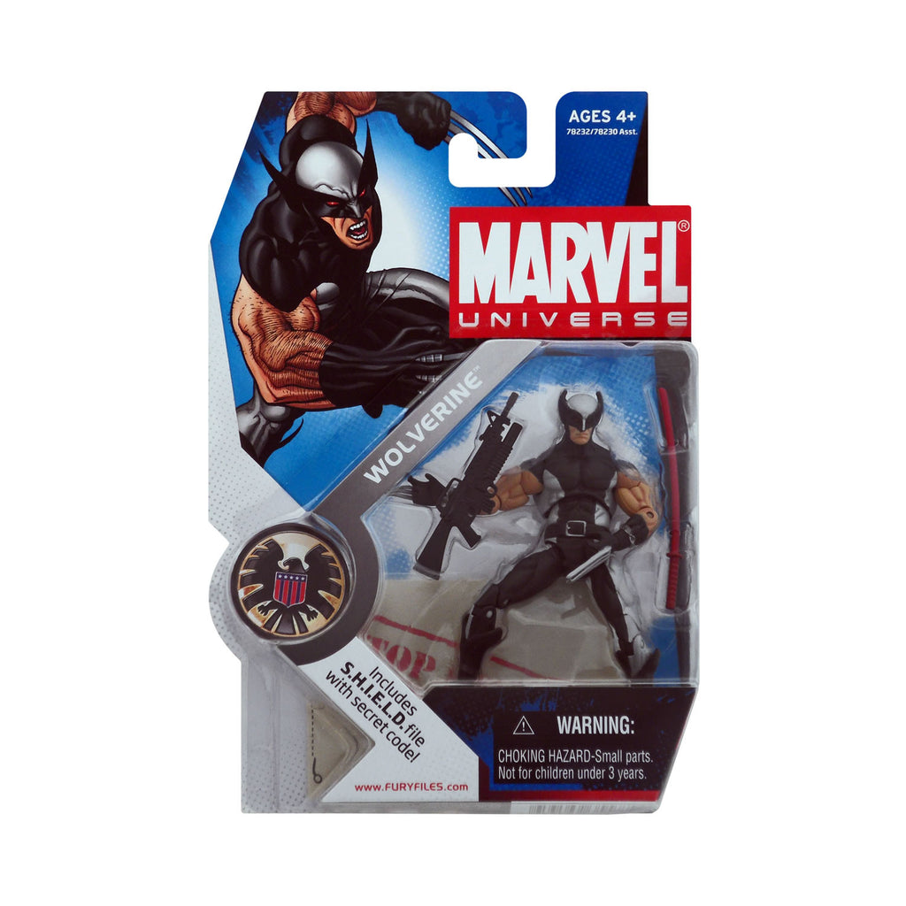 Marvel Universe Series 1 Figure 6 Wolverine (X-Force)