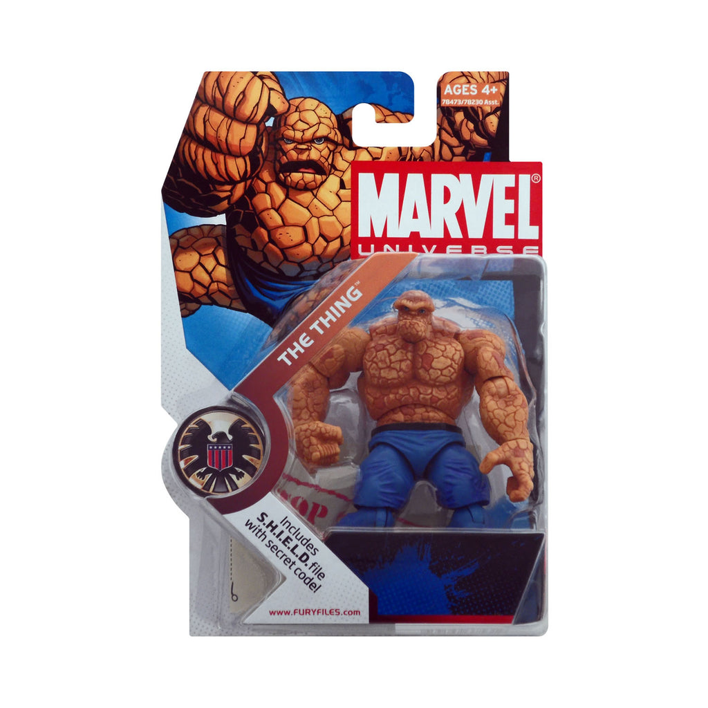 Marvel Universe Series 1 Figure 19 The Thing (light blue pants)