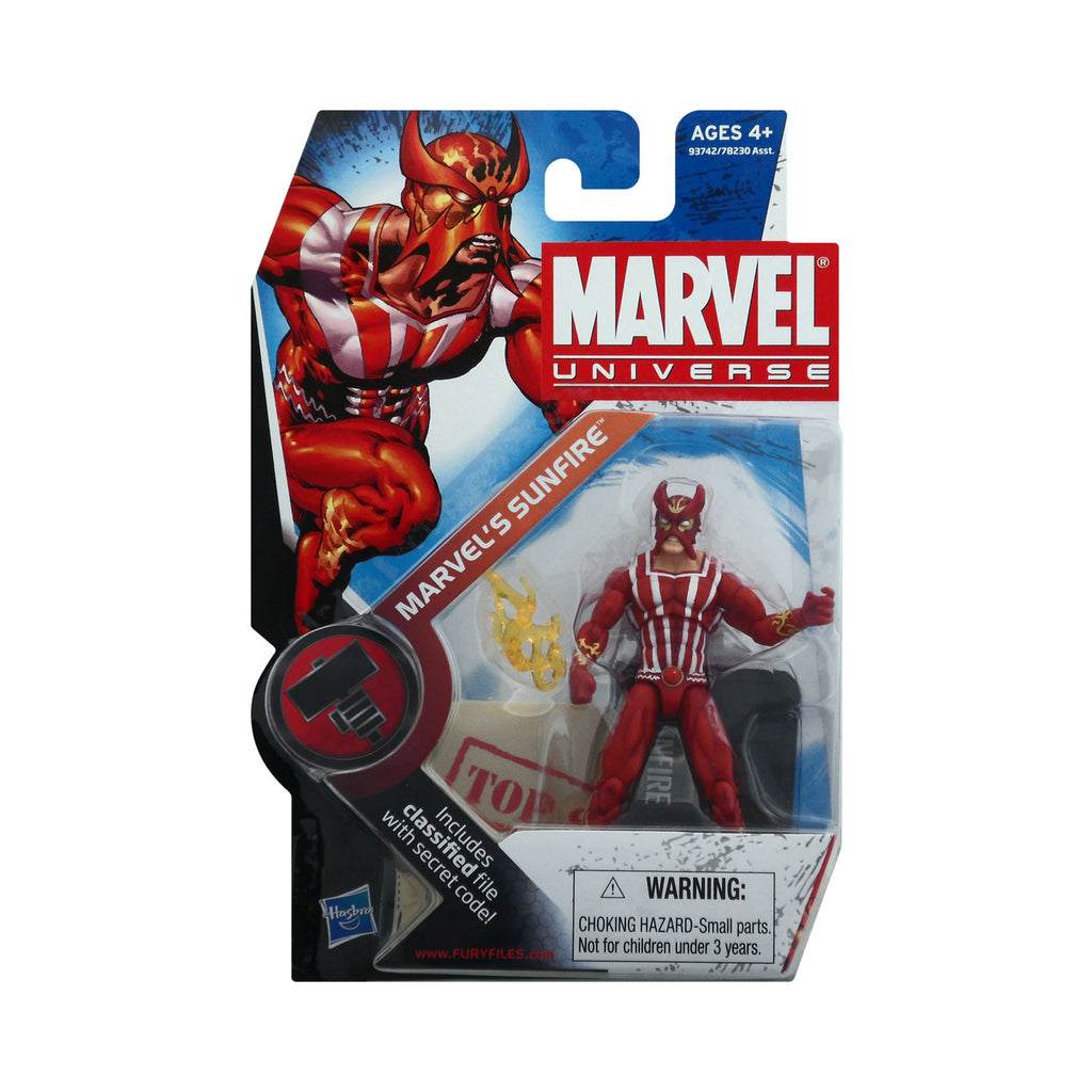Marvel Universe Series 2 Figure 5 Marvel's Sunfire