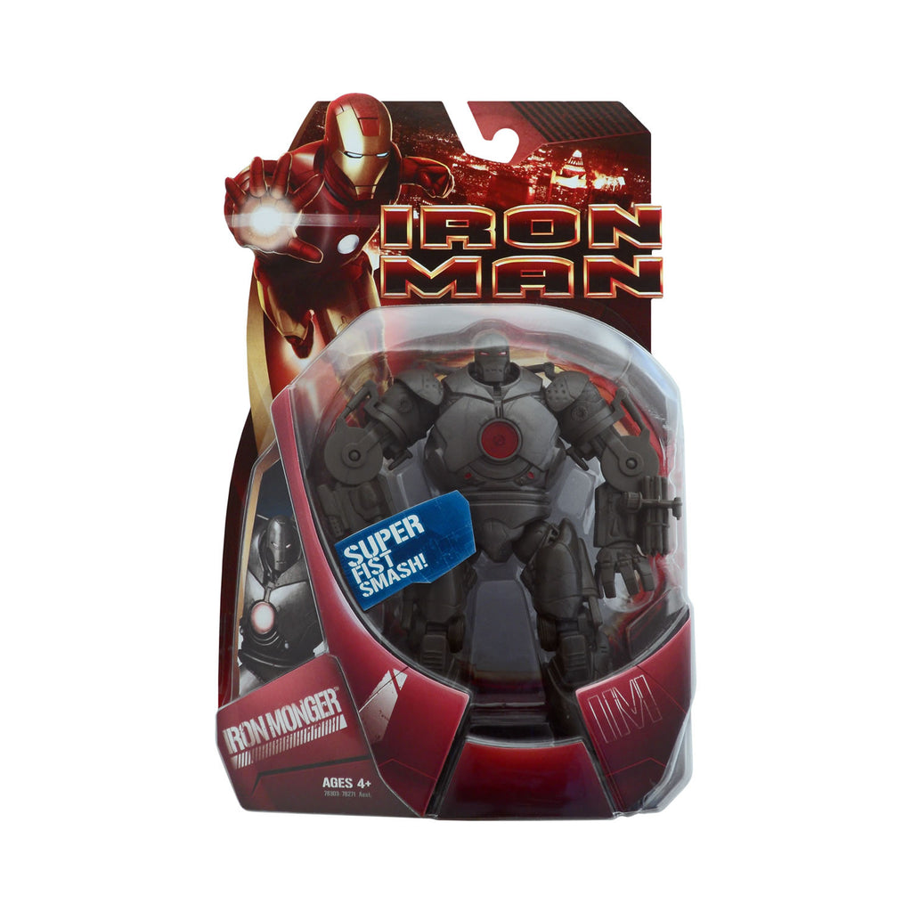 Iron Monger with Super Fist Smash from the Iron Man Movie (red light variant)