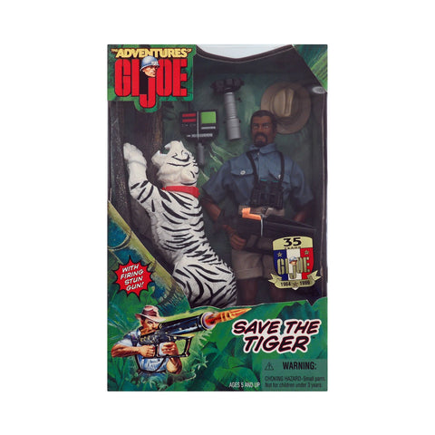 Adventures of G.I. Joe Save the Tiger (African-American)