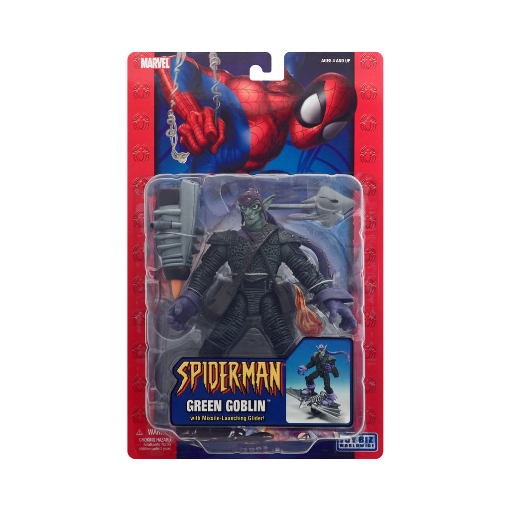 Green Goblin with Missile-Launching Glider from Spider-Man