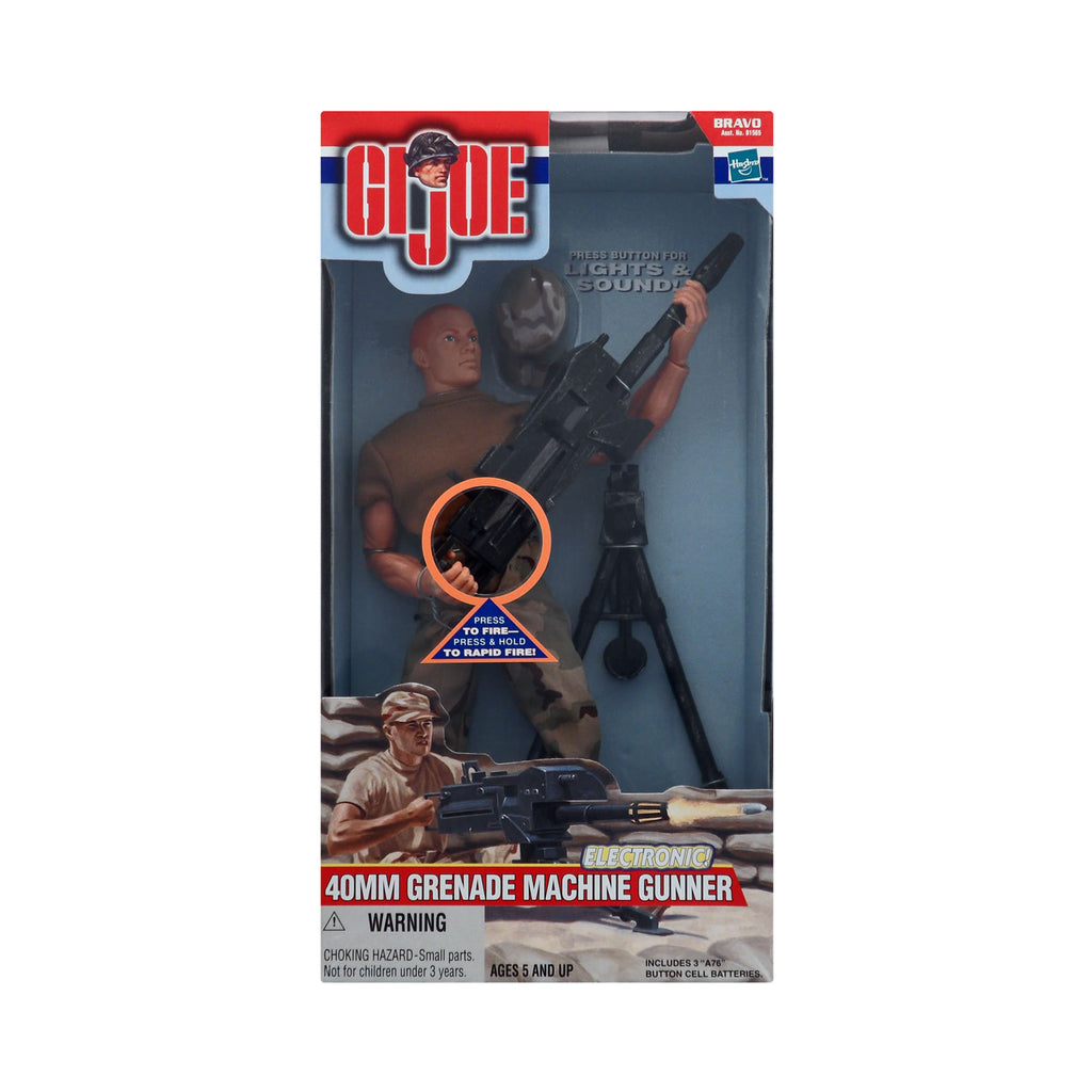 G.I. Joe 40mm Grenade Machine Gunner