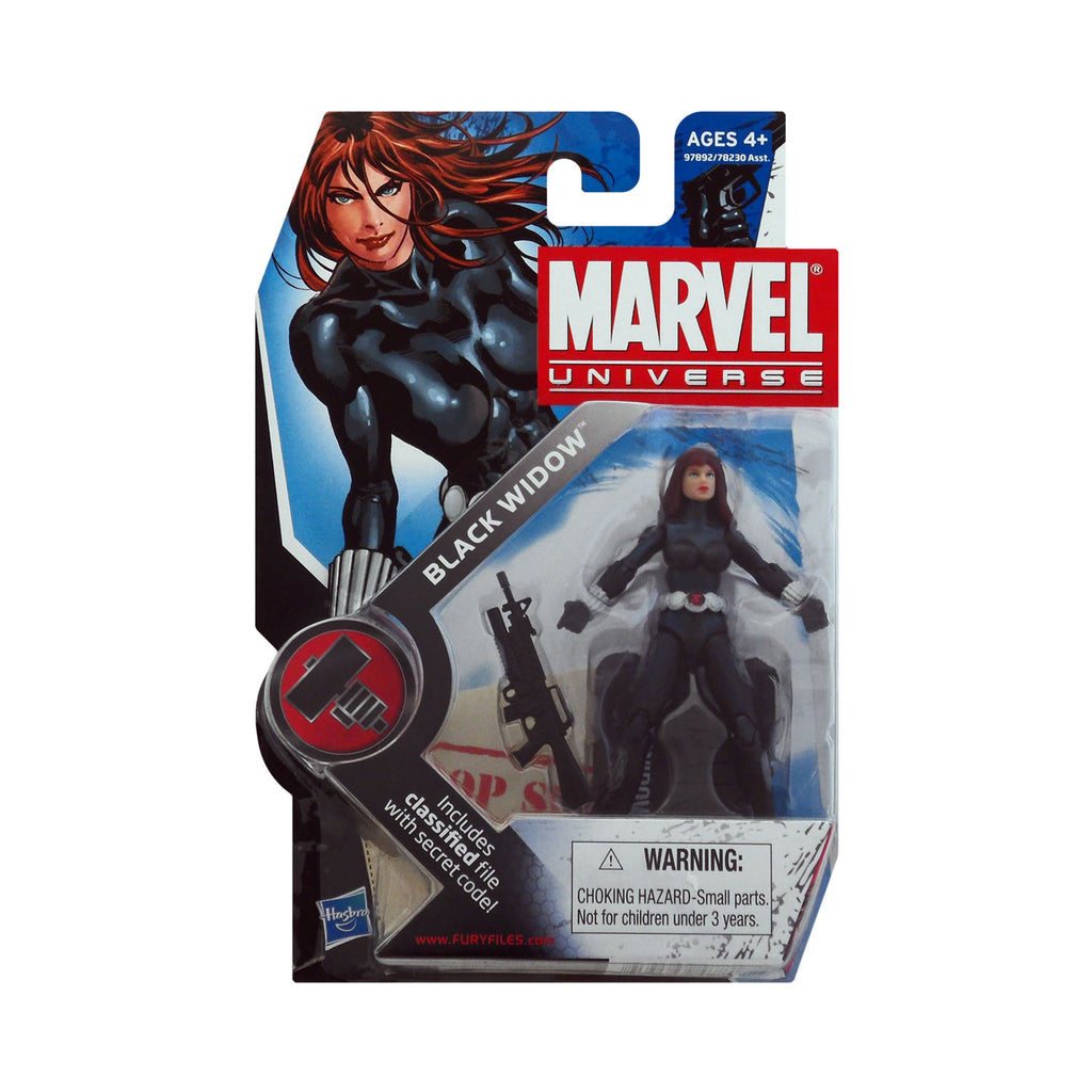 Marvel Universe Series 2 Figure 11 Black Widow