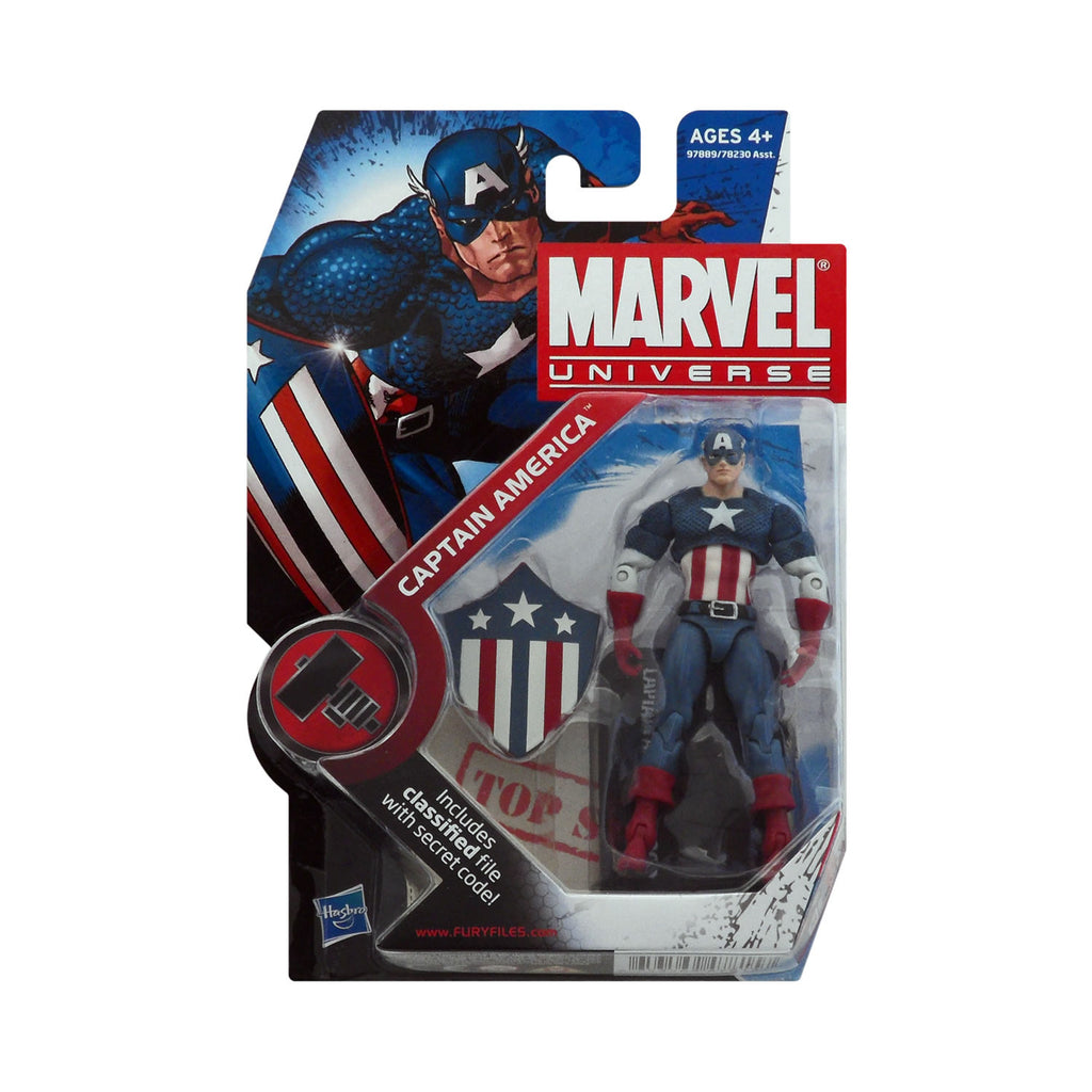Marvel Universe Series 2 Figure 8 Captain America (WW2 appearance)