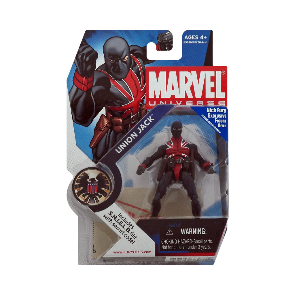 Marvel Universe Series 1 Figure 26 Union Jack