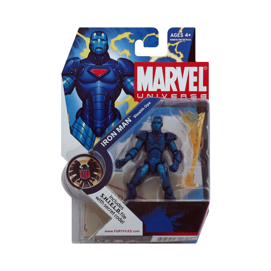 Marvel Universe Series 1 Figure 9 Iron Man (Stealth Ops)