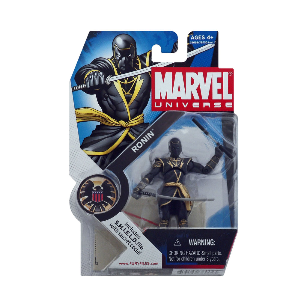 Marvel Universe Series 1 Figure 16 Ronin (dark grey)