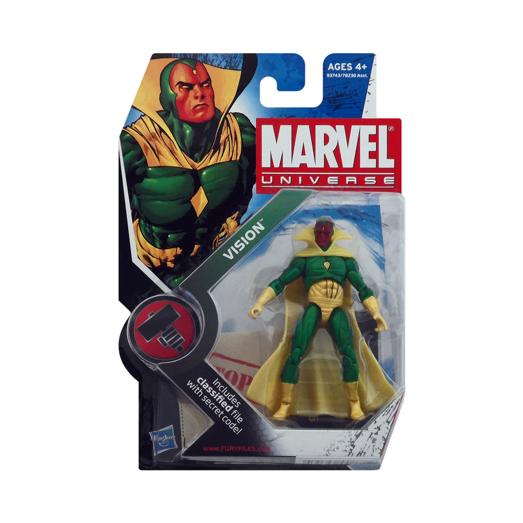 Marvel Universe Series 2 Figure 6 Vision (solid)