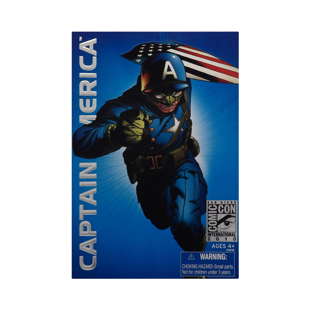 2010 Convention Series San Diego Comic Con Ultimate Captain America (WW2)