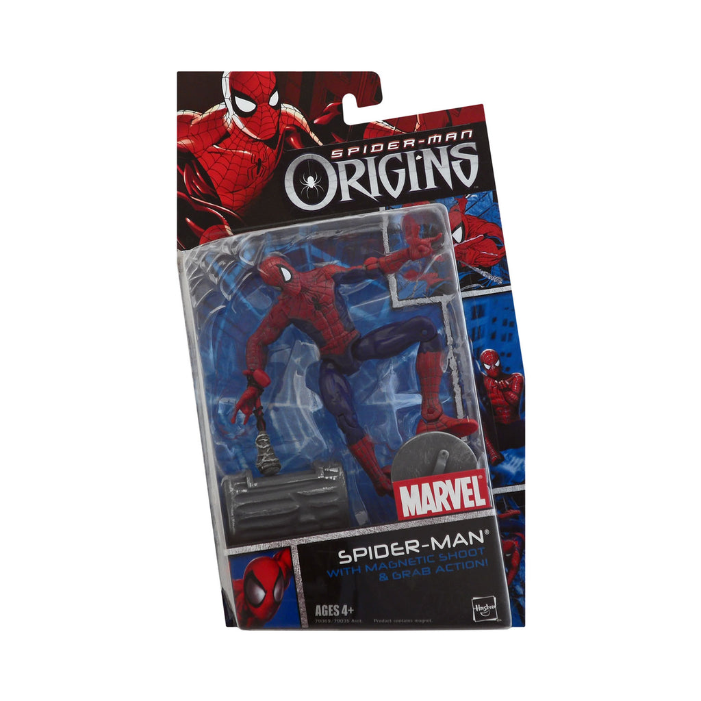 Spider-Man Origins Spider-Man with Magnetic Shoot & Grab Action