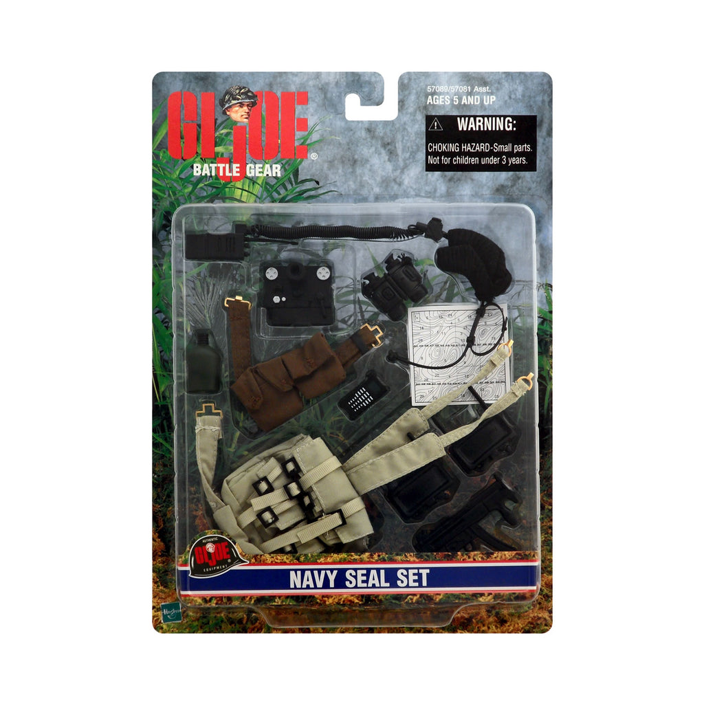 G.I. Joe Battle Gear Navy SEAL Set