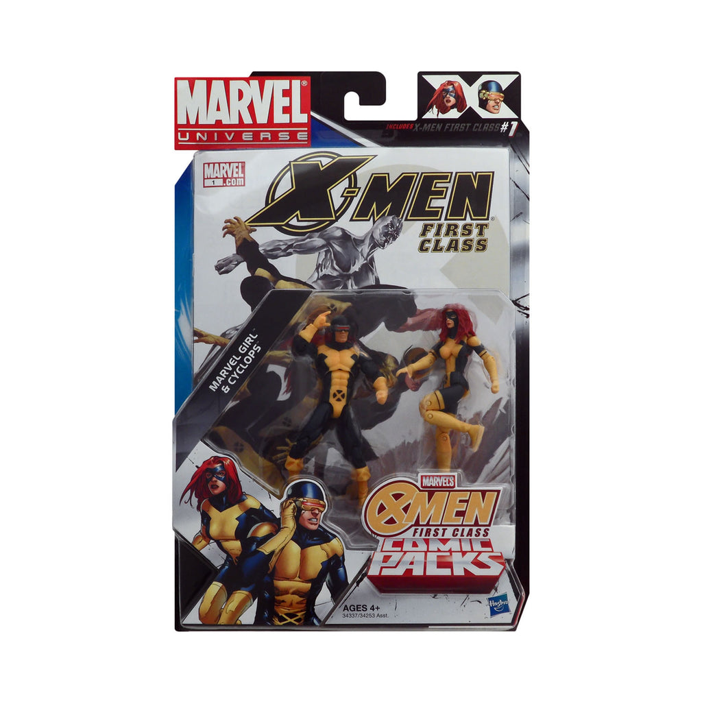 Marvel Universe Marvel Girl & Cyclops X-Men First Class Comic Pack