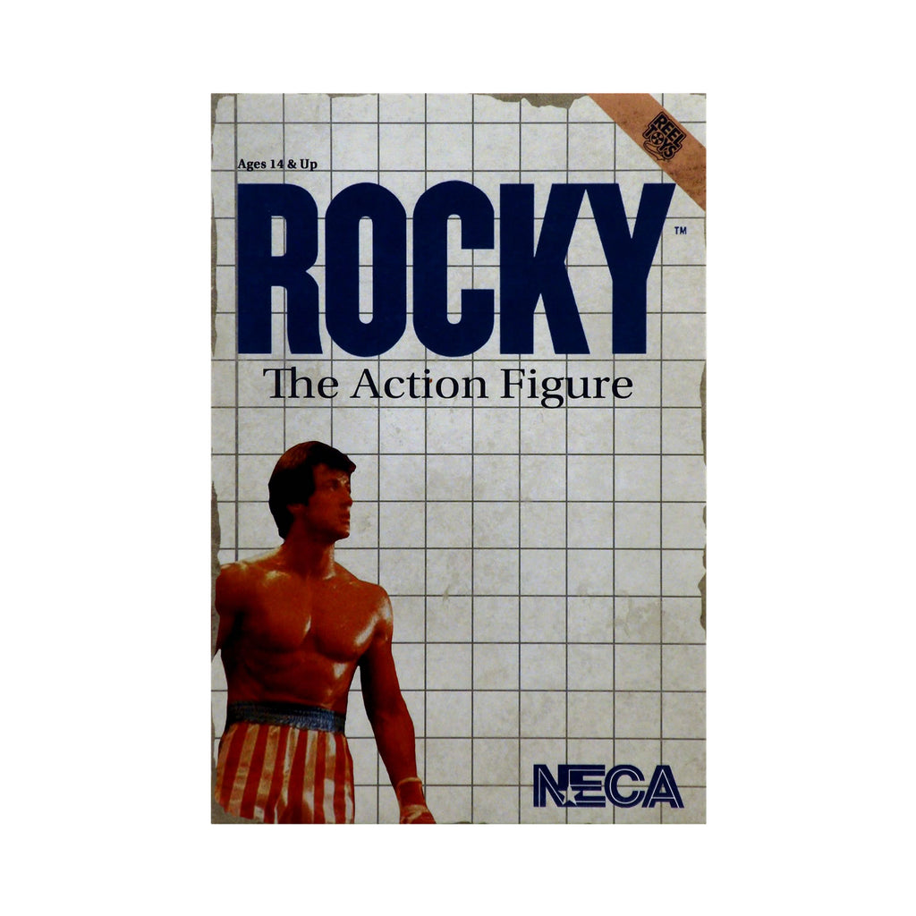 Classic Video Game Appearance Rocky the Action Figure