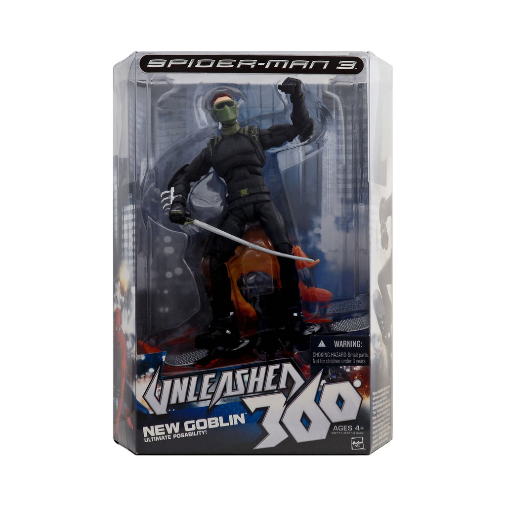 "8"" New Goblin from Spider-Man Unleashed 360"